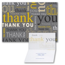 Many Thanks - Thank You Card
